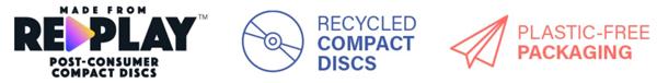 Disc Case Sustainability Icons
